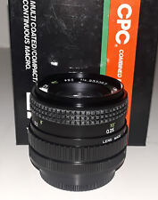 CPC 28mm/f2.8 Macro Lens for Canon FD (BRAND NEW!)
