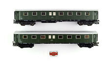 LOT 2 PASSENGER CARS ÖBB MÄRKLIN H0 - GOOD CONDITION - WITHOUT BOX