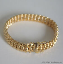 Bracelet Or 18k 750 Maille Americaine 20.50grs -19cm - Bijoux occasion