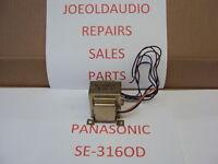 Panasonic SE 3160 Power Transformer. Part # SLT5L62-W Tested Parting Out SE 3160