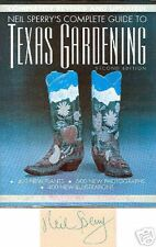 SIGNED Neil Sperry's Complete Guide to Texas Gardening