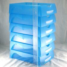 High Quaility Optical Lab 5pcs Blue Job Trays Optician Glasses Store Necessary