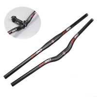 Carbon Bike Handlebar MTB Mountain Road Cycling Bicycle Flat/Riser Bar 600-760mm