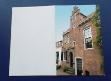 Picture / Information CARD re KLM 89 Delft House. (NB: No KLM house is included)