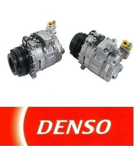 For 540I 740I 740IL M5 Z8 E38 E39 E52 4.4 5.0 4.8 V8 Denso AC A/C Compressor NEW