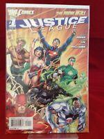 Justice League #1 2011 DC Comics The New 52 Batman Superman Flash 1st Print