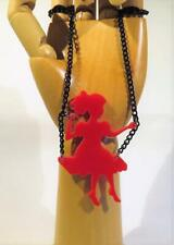 CG5390...PENDANT NECKLACE - GIRL ON A SWING - FREE UK P&P