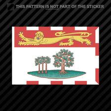 Prince Edward Island Flag Sticker Self Adhesive Vinyl Canada pe province