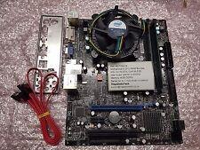 msi g41m-p25 mainboard bundle, intel quad q6600 2.40ghz, ddr3 4gb ref 516