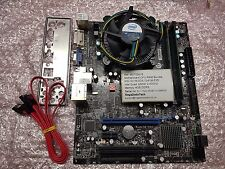 MSI G41M-P25 carte mère bundle, Intel quad Q6600 2.40GHz, DDR3 4GB ref 516