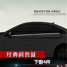 4Pcs Fit For 2009-2015 Chevrolet Cruze Window Chome Molding Trim Accent