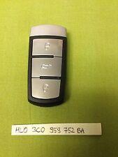 VW PASSAT B6 CC CENTRAL LOCK REMOTE KEY FOB HL0 3C0 959 752 BA