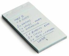More details for duplicate sheet carbonless restaurant waiter pub food order pad  5.5