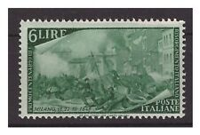 ITALIA  1948  -  RISORGIMENTO  LIRE 6   NUOVO  **