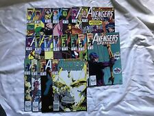 Run Lot of 19 Solo Avengers (1987) #22-40 VF Very Fine