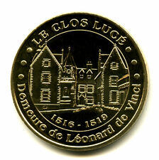 37 AMBOISE Le Clos Lucé, Demeure de Léonard de Vinci, 2006NV, Monnaie de Paris