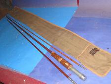 vintage HEDDON #14  9' Bamboo Fly Rod  + Carry Bag  61k4