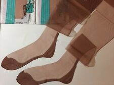 11 X 36 3 Pairs Cuban Seamed Stockings Full Fashioned Vintage Pedestal Nylons 👡