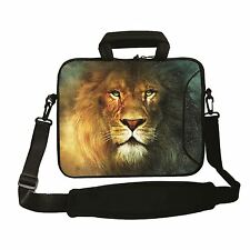 """15 """" -15.6"""" bolsa de ordenador portátil con asa y Correa Funda Bolsa Para Todas Las Laptops """"Lion"""""""