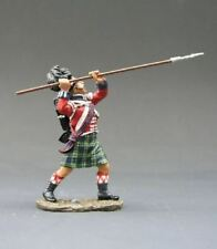 King & Country Age Of Napoleonic NA051, 42nd Black Watch Highlander NCO W/Pike
