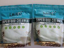 Paleo 2 Laird Superfood 8 oz Unsweetened Coffee Creamer GFDFSF Vegan Keto NonGMO