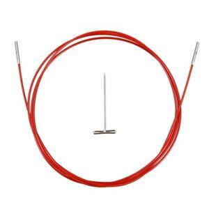 ChiaoGoo TWIST RED - Seile austauschbare Nadelspitzen Stricknadeln M - S - L