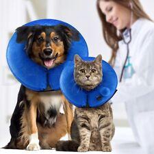 Auto Inflable Cuello Suave Cono Protector después de la cirugía recuperación Mascotas Perro Gato