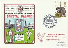 29 OCTOBER 1977 CRYSTAL PALACE v CHARLTON ATHLETIC DAWN FOOTBALL COVER