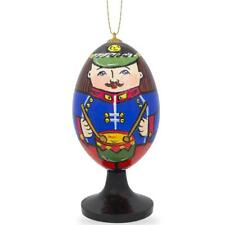 Soldier with Drum Wooden Christmas Ornament