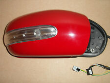 MERCEDES C 203 FOLDING WING DOOR MIRROR Driver Red Right RH OS R/H O/S R Fold