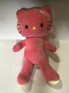 Build-A-Bear 2013 Plush Pink HELLO KITTY Sun Shine Stuffed Animal Toy No Bow