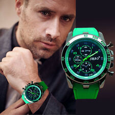 Hot Military Men's Watch Stainless Steel Date Sport Analog Quartz Wrist Watch