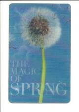 Macy's Lenticular Dandelion Gone to Seed Gift Card No $ Value Collectible