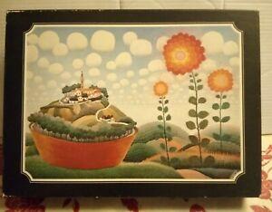 Ivan Rabuzin Naive Artist My Little World Jigsaw Puzzle Rare Meine Kleine Welt