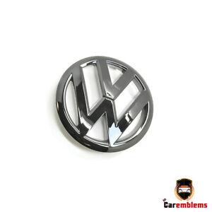 VW  Volkswagen Golf MK6 Silver Chrome  Rear Badge Emblem R-Line11cm 2009-12