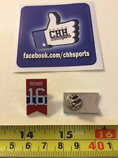 Montreal Canadiens Retired Banner Pin - Épinglette Henri Richard #16 Jersey Habs