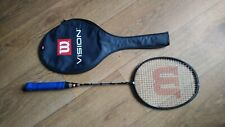 Wilson Vision V14 Badminton Racket with Cover 80 - 84g 4U/G3