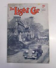 THE LIGHT CAR MAGAZINE 31 MAR 1939 - 1,100 H.R.G. TESTED, RILEY COVER ++