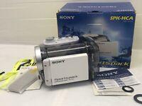 GENUINE SONY CAMCORDER WATERPROOF CASE SPK-HCA for DCR-HC90 DVD803