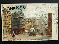 AK Frankfurt a. Main Lutherhaus Künstlerkarte