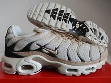 NIKE NIKELAB AIR MAX PLUS LIGHT BONE-BLACK-SAIL-OATMEAL BROWN SZ 13 [898018-002]
