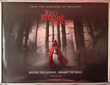 Cinema Poster: RED RIDING HOOD 2011 (Advance Quad) Lukas Haas Amanda Seyfried