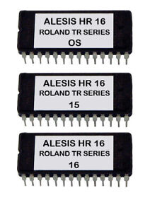 Roland TR 505 606 626 707 727 808 909 Sounds For Alesis HR-16 / Hr-16B Eprom OS