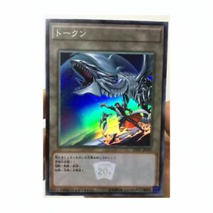 Yu Gi Oh !! 20th Anniversary Blue Eyes White Dragon and Seto Kaiba JP DIY Card