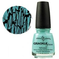 China Glaze Crackle Nail Polish Crushed Candy ( blue )  14ml
