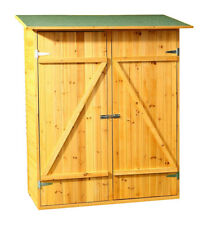Mucla XXL Holz Gerätehaus - Natur