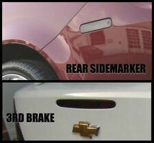 Chevy Cobalt Smoked Tinted Rear Side Marker & 3rd Brake Overlay SS Pre Cut
