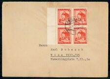 Mayfairstamps Austria 1941 Wien House on Mountain Block Cover wwe_99857