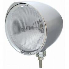 "UNITED PACIFIC 32533 - ""CHOPPER"" Headlight w/ Razor Visor - H4 Bulb"