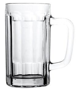 Deli Glassware Classic Beer Mug / Beer Stein, Edge Series, 475ml